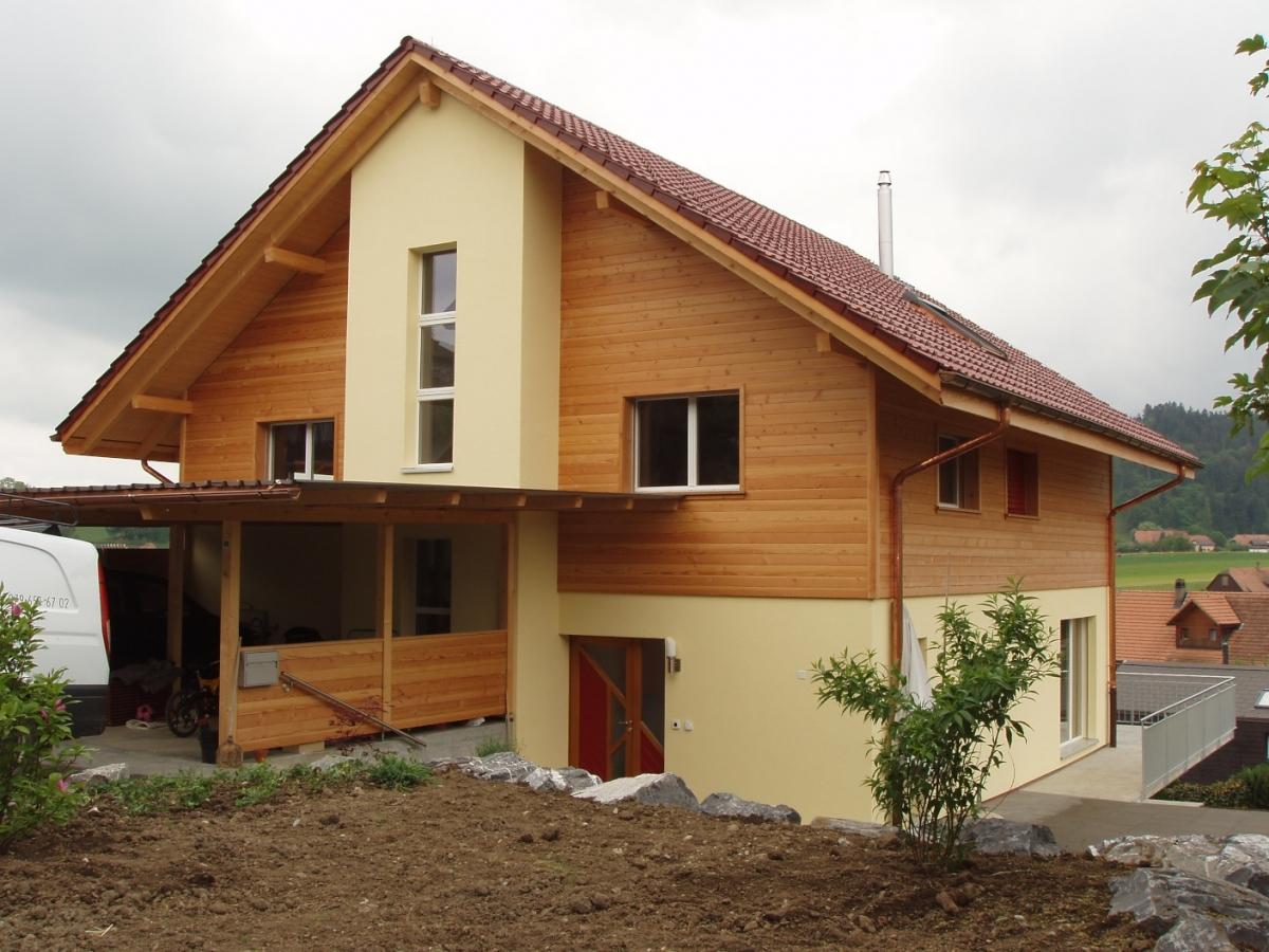 neubau einfamilienhaus zimmerei innenausbau micha rolli. Black Bedroom Furniture Sets. Home Design Ideas